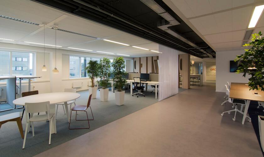 Kantoorruimte in Eindhoven opnieuw ingericht